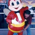 Rubbing Jollibee for his honey